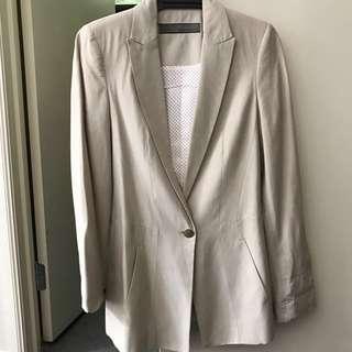 Zara BNWOT women's cream blazer xs
