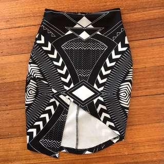 Rise of dawn skirt