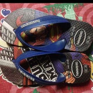 Authentic havaianas size 25-26 preloved EUC