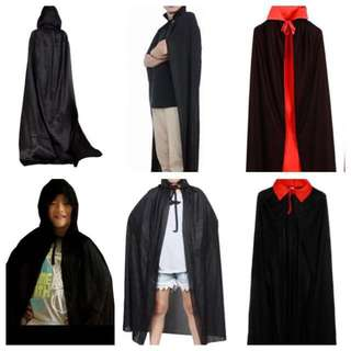 IN STOCK Halloween Cloaks Robes Capes Dracula Cloak Vampire Cloak Cape Robe Halloween Costume
