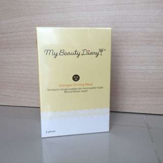 Masker set from My Beauty Diary (Collagen Firming Mask)