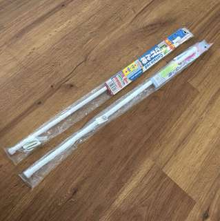 White Tension Rod (70-120cm)
