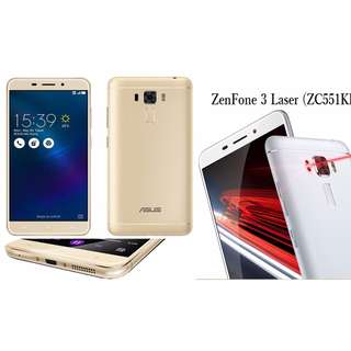 Asus Android 6.0 Phone ZenFone 3 Laser 4GB RAM 32GB ROM GOLD Free Shipping in All NCR Area Cash On Delivery Nationwide