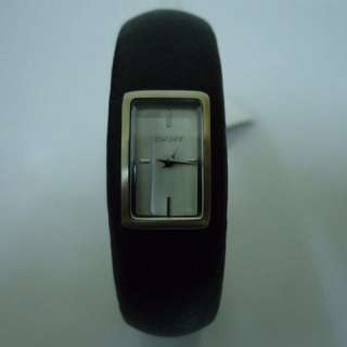 REPRICED!!! DKNY 2-Hand Leather Bangle Women's Watch #NY8594