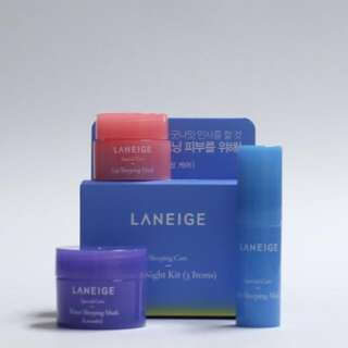 LANEIGE Goodnight Care Trial Kit 3 Items Instock