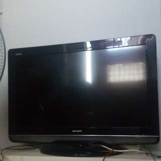 Jual cepet tv sharp aquos 32inch