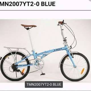 K-Rock Bicycle可摺單車