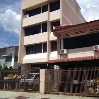 4 Story building & 2 story house for sale (attached together)