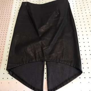 Mink Pink Faux Leather Skirt