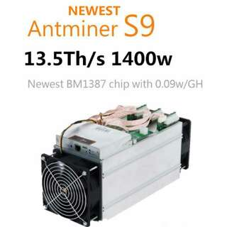 Ready bulit Crytocurrency ETH Mining Rig / Antminer L3 S9