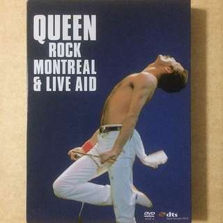 Queen, Rock Legend, Rock Montreal & Live Aid, Freddie Mercury, Brian May, Roger Taylor, John Deacon