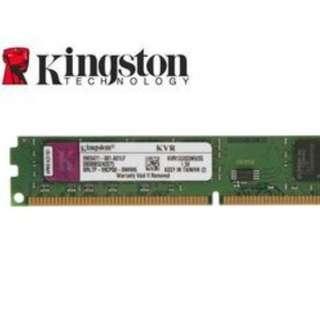 Kingston ddr3 1333 4Gx4 total 16G