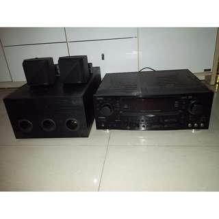 DANTAX Pro900 擴音器連啦叭及Subwoofer