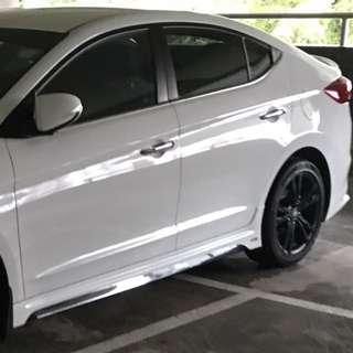 Car washing and polishing