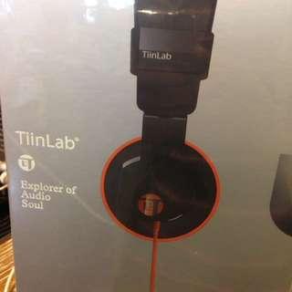 出清中~全新TinnLab 耳罩式耳機