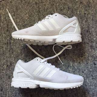 Adidas white flux
