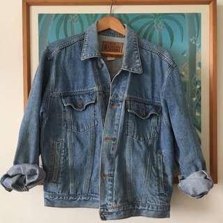 經典古著 復古刷舊 5thSTREET 牛仔丹寧外套