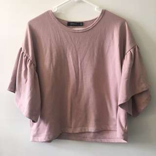 GLASSONS PINK TOP SIZE SMALL