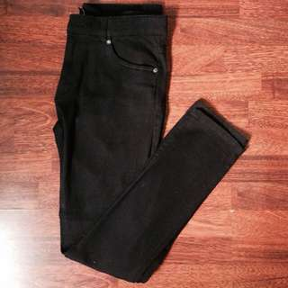 H&M Slim Fit Black Jeans