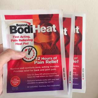 Heat pad for pain relieve (x3)