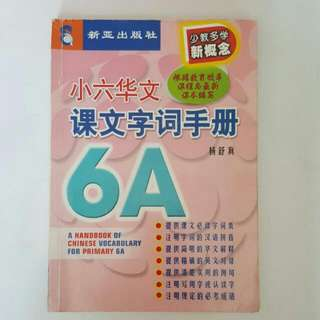 BLESS📬A Handbook Of Chinese Vocabulary For Primary 6A