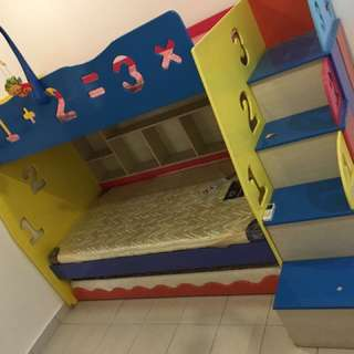 Bunk Bed to let go
