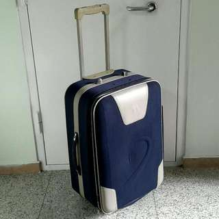 "Blue 26.5"" Mid Size Luggage Bag"