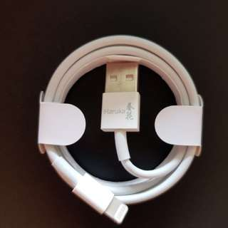 [Japan] 1m Lightning Cable MFI Certified supports 2.4A FAST Charging iPhone 5/6/7 iPad series