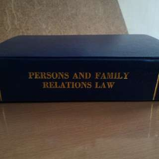 Persons and Family Relations by Sta. Maria, 2010 Edition