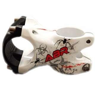 "ABR ZERO JAZ 6061 Alloy Bike Handlebar Stem 1-1/8"" 31.8 x 50mm ,White"