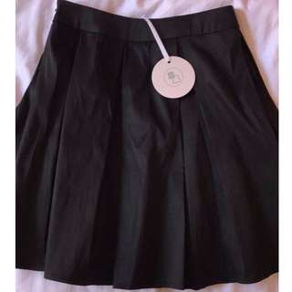 Beginning Boutique Parasol Skirt in Onyx Size XS