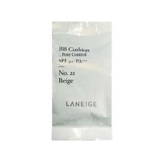 Laneige pore control bb cushion refill in no.21 Natural Beige
