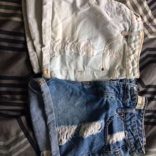 High waisted shorts $10 for both