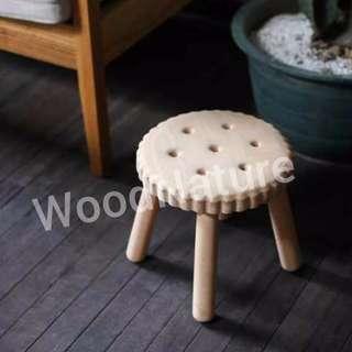 🔆 Brand new Beechwood handmade children's stool