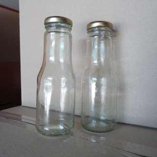 Botol Kaca Dadih @ Doorgift