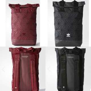 adidas originals 3D mesh roll top backpack 背囊 背包 書包