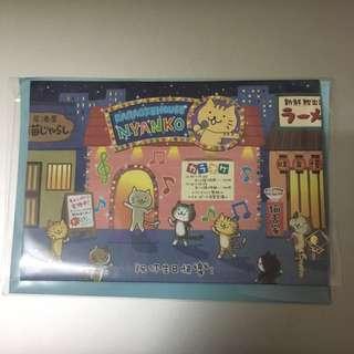 生日卡-全新Sanrio卡拉OK貓咪生日卡