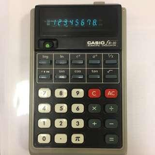 Antique Casio fx-10 Scientific calculator