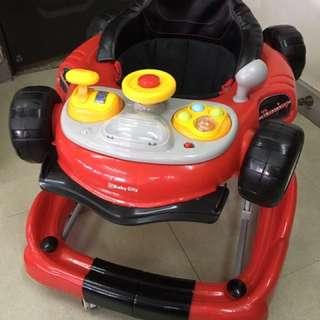 Baby City 2 IN 1 超跑型學步車(BB41020)