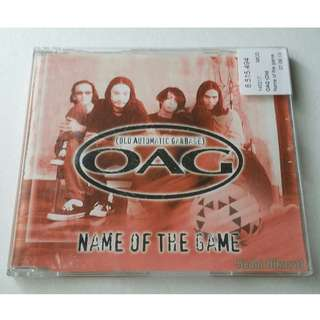 O.A.G (OLD AUTOMATIC GARBAGE) : NAME OF THE GAME (SINGLES 1998)