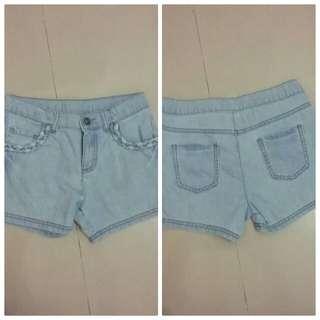 Mothercare hot pants colour soft blue