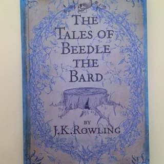 JK Rowling Tales of Beetle the Bard Hardcover