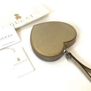 NBU gucci baby heart shape coin purse