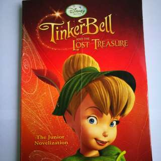 PRE💙D Disney© Fairies Tinker Bell And The Lost Treasure: The Junior Novelization