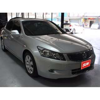 新 2008年Honda Accord 銀色 2.4
