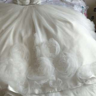 Wedding Dress (princess size 6-8)