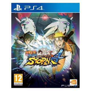 (Brand New Sealed) PS4 Game Ultimate Ninja Storm 4