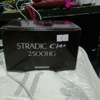 SHIMANO STRADIC C14+ 2500HG