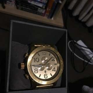 Nixon 51-30 GOLD Watch
