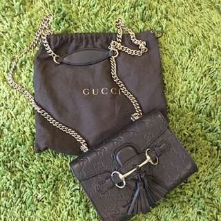 Mini Gucci sling bag